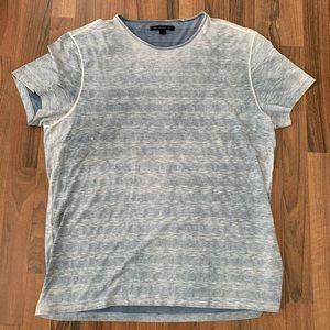 "Mens John Varvatos Distressed ""Vintage"" Shirt XL"